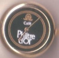 CAFE - PHILTRE D'OR - Montre En Relief - Alimentation