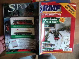 REVUE DU MODELISME FERROVIAIRE N°385 DE DECEMBRE 1996. LE FRET SNCF... BB 66400 JOUEF / TGV R ET THALYS LIMA / BB 25150 - Trains