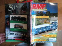 REVUE DU MODELISME FERROVIAIRE N°382 DE SEPTEMBRE 1996. LES BB 3000 DE L OBSIDIENNE... LES LOCOMOTIVES 031 TA DE LA BAN - Trains