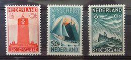 NEDERLAND  1933   Nr.  257 - 259     Scharnier *    CW 42,50 - NVPH 2017 - Unused Stamps