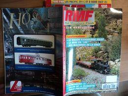 REVUE DU MODELISME FERROVIAIRE N°378 D AVRIL 1996. LE WAGON KANGOUROU JOUEF... - Trains