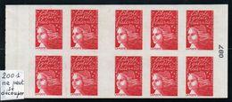 Carnet N° 3085-C6d - Sans Prédécoupe Horizontale - Neuf ** - MNH - Cote: 110,00 € - Definitives