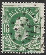 N° 30 Oblitération LP 410 De Zele (Nic 36) - 1869-1883 Leopoldo II