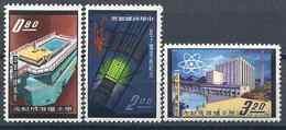 1961-62 FORMOSE- TAIWAN 388-88B ** Atome, Réacteur Nucléaire - Neufs