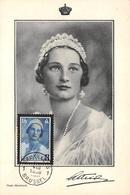 Belgique .CARTE MAXIMUM. N°207752. 1956. Cachet BRUXELLES. Jeune Femme. - Maximum Cards