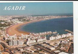 Carte Postale. Maroc. Agadir. Vue Panoramique. La Baie. - Agadir