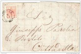 7.10.1853 Verona Cittadella HP IIIa  Stamp Min 25 Euros - 1850-1918 Imperio
