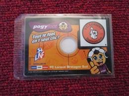 DIVDIV CD-ROM NEUF POGY FOOT SAISON 2001/2002  FC LORIENT BRETAGNE SUD TOUTES LES PHOTOS ET + DE VOS JOUEURS PREFERES - Jeux PC