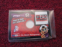 CD  ROM  NEUF  POGY FOOT  SAISON 2001/2002 EN AVANT GUINGAMP TOUTES LES PHOTOS ET + DE VOS JOUEURS PREFERES - Jeux PC