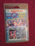 DIVDIV Star Clic ECard Foot Neuve N°15  LILIAN THURAM  Vu à 5 Euros Chez I-B - Jeux PC