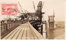 AUSTRALIE .CARTE MAXIMUM. N°207767. 1932. Cachet SYDNEY. Pont. Total Width - Cartoline Maximum
