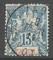 MAYOTTE N° 6 CACHET D'ZAOUDZI - Mayotte (1892-2011)