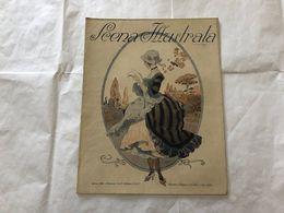 SCENA ILLUSTRATA NUMERO DOPPIO N. 19-20 EZIO ANICHINI 1917 LIBERTY DECò WOMAN - Books, Magazines, Comics