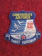 DIVDIV Ecusson Tissu Années 90 CONFEDERATE AIR FORCE 1939 1945 GHOST SQUADRON - Blazoenen (textiel)