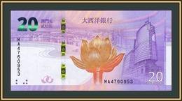 Macau 20 Patacas 2019 P-89 (89a) UNC - Macau