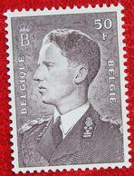 50 Fr Koning Boudewijn Phosphoriserend Papier 1952 1969 OBP 879 (Mi 928 Y) POSTFRIS/MNH ** BELGIE BELGIUM - Belgique