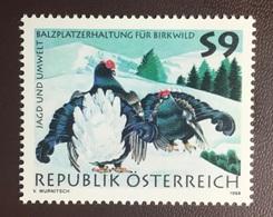 Austria 1998 Grouse Birds MNH - Zonder Classificatie