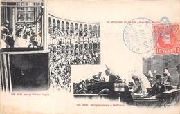ESPAGNE .CARTE MAXIMUM. N°207783. 1906. Cachet Correos. Palco Regio. Dirigiendose à La Plaza - Cartoline Maximum