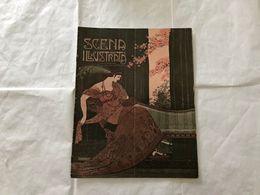 SCENA ILLUSTRATA  EZIO ANICHINI WOMAN DECò LIBERTY NUMERO DOPPIO 5-6 1918. - Books, Magazines, Comics