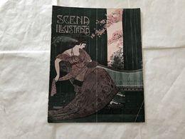 SCENA ILLUSTRATA  EZIO ANICHINI WOMAN DECò LIBERTY 15 LUGLIO 1916. - Books, Magazines, Comics