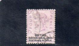BECHUANALAND 1887 O - Bechuanaland (...-1966)