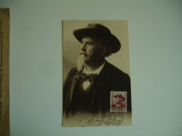 1941 Maillane Frederic Mistral C M Carte Maximum - Maximumkaarten