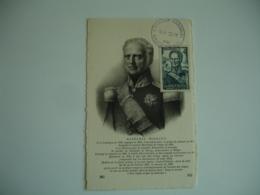 1944 Limoges Marechal Bugeaud  C M Carte Maximum - Maximumkaarten