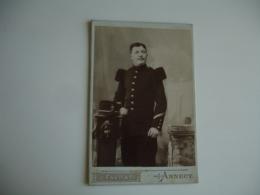 Favart Annecy  Militaire Cliche Photo Portrait - Anonymous Persons
