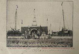 Katwijk Aan Zee //   Visscherij Tentoonstelling Met KR Stempel 1902 - Katwijk (aan Zee)