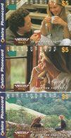 Australia, A972242 - A974262, Set Of 3 Cards, Nescafe , 2 Scans.  NB : Slight Marks On The Lowest - Australie