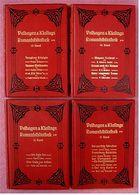 4 Bände Velhagen & Klasings Romanbibliothek - 1903 Bis 1907 , Band 13-15 + 17 - Livres, BD, Revues