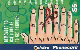 Australia, A975212, Eight Finger Hand, Mint, 2 Scans. - Australie