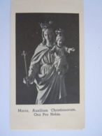 Maria Madonna Van Don Bosco Noveen Gebeden Prentje Auxilium Christianorum Image Pieuse Holy Card Santini - Images Religieuses