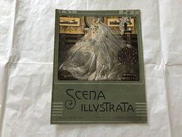 SCENA ILLUSTRATA  EZIO ANICHINI WOMAN SPOSA LIBERTY NUMERO DOPPIO 11-12 1921 - Books, Magazines, Comics