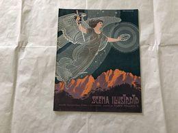 SCENA ILLUSTRATA  EZIO ANICHINI WOMAN VITTORIA ALATA DECò RETRò 1916 - Books, Magazines, Comics