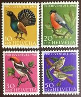 Switzerland 1968 Pro Juventute Birds MNH - Birds