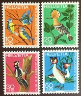 Switzerland 1970 Pro Juventute Birds MNH - Birds