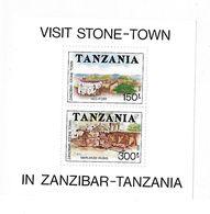 Tanzania 1992 Zanzibar Stone Town S/S MNH - Tanzania (1964-...)