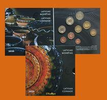 New!!!Latvia 2020 - 5,88 Euro - LATGALIAN CERAMICS KMS BU Set 1c-2 EIRO + 2 EURO CC - Lettonie
