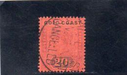 GOLD COAST 1889-1902 O - Côte D'Or (...-1957)