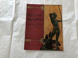 SCENA ILLUSTRATA  EZIO ANICHINI GRECIA ATHENE  NUMERO DOPPIO 19-20 1918 - Books, Magazines, Comics