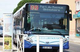 - 83 - Le Pradet (83) - Carte Postale Moderne -  Bus - 9.502 - Le Pradet