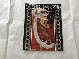 SCENA ILLUSTRATA  EZIO ANICHINI WOMAN DANZATRICE   NUMERO DOPPIO 21-22 1921 - Books, Magazines, Comics