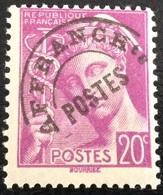 N° 78   PREOBLITERES   NEUF ** SANS CHARNIÈRE ( LOT:2025 ) - 1893-1947