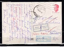 Postkaart Van Liege 12  Getaksseerd In Liege - Belgium