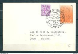 Brief Van De Moedige Wandelaars Beernem Naar Deurne - Belgium