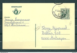 Postkaart Van Begijnendijk Naar Antwerpen - Belgium
