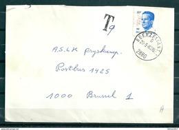 Brief Van Beerzel (Antw.) Naar Brussel Met Taksstempel - Belgium