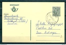 Postkaart Van Beerzel (Antw) Naar Antwerpen - Belgium