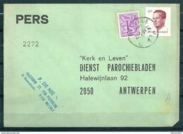Pers Brief Van Belsele C1C Naar Antwerpen - Belgium